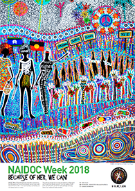 Thumbnail image of the 2018 winning NAIDOC poster
