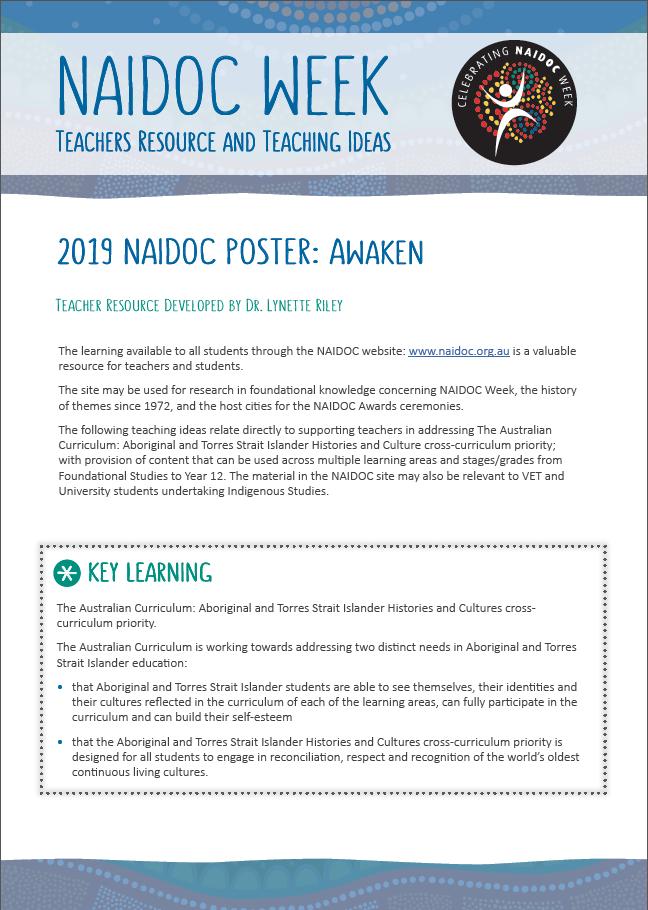Teachers Guides | NAIDOC