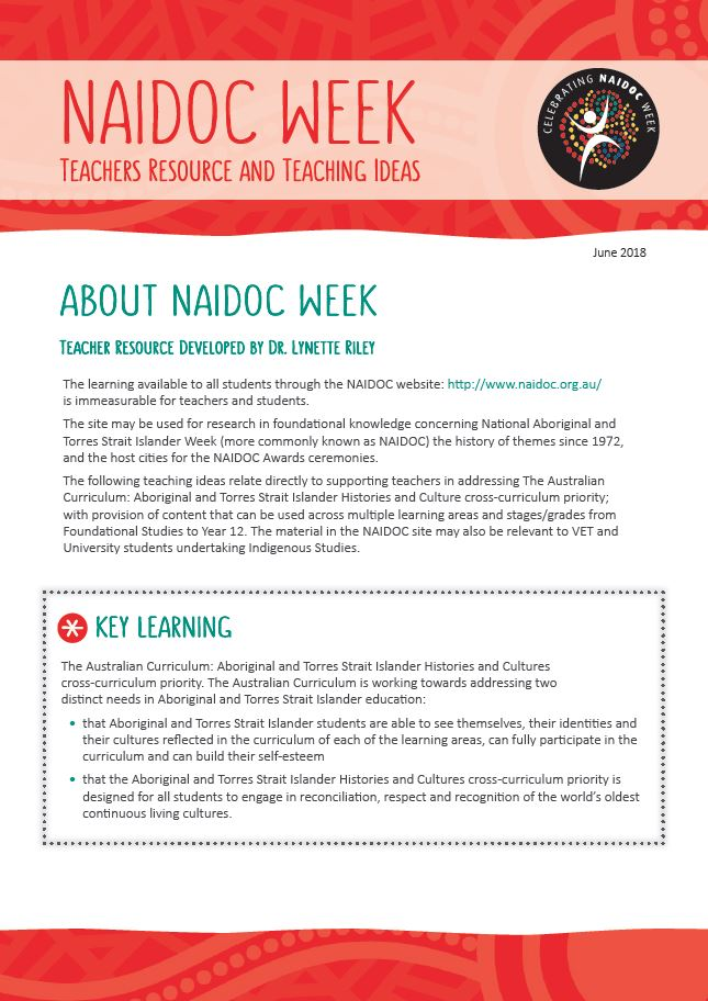 Resources About NAIDOC Week