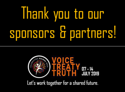 Thank you to our sponsors & partners