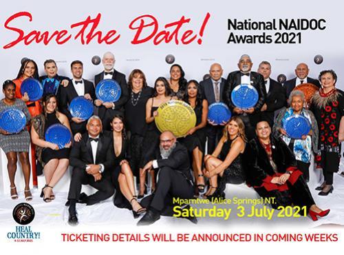 Save the Date! National NAIDOC Awards 2021