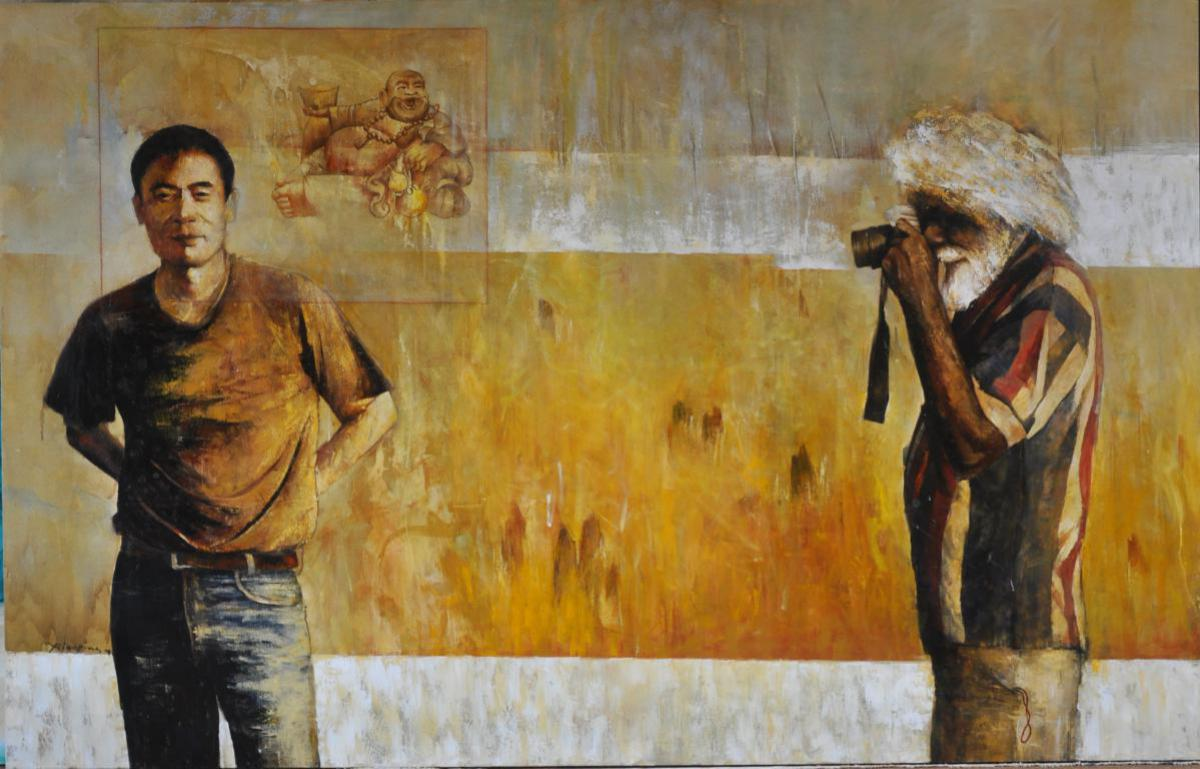 How Johnny Sees Me, 2009, by Zhou Xiaoping