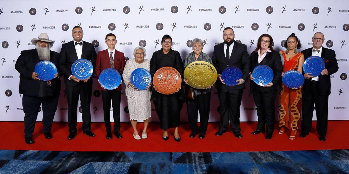 2018 NAIDOC Award Winners