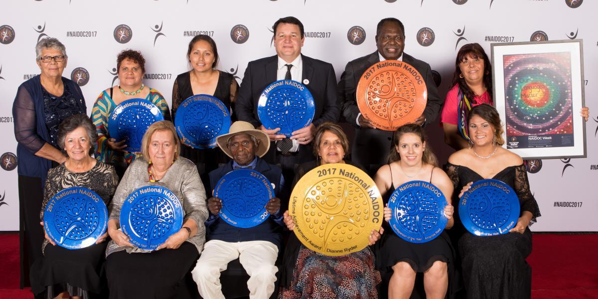 2017 National NAIDOC Award winners honoured in Cairns