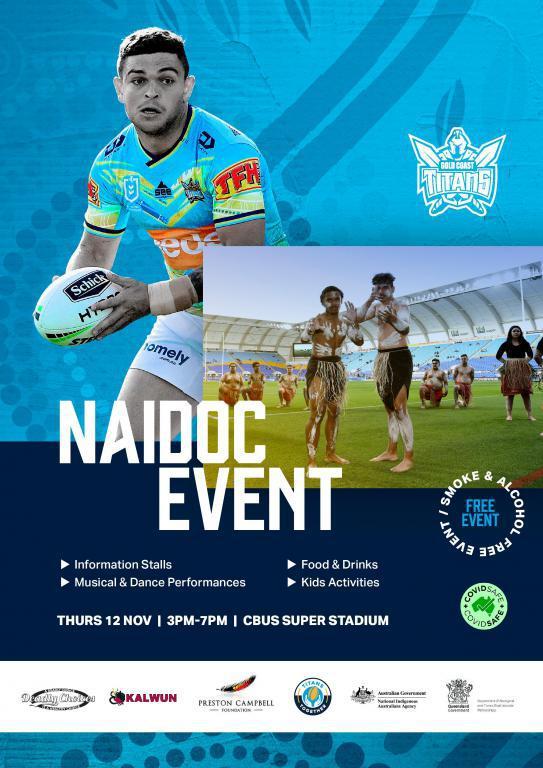 Gold Coast Titans: NAIDOC Event