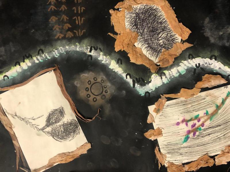 Student Artwork for Pathways Program