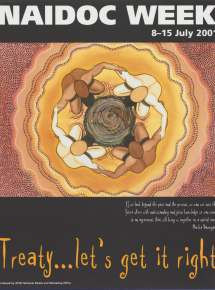 2001 National NAIDOC Poster