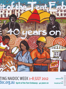 2012 National NAIDOC Poster