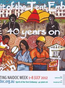 2012 National NAIDOC Poster