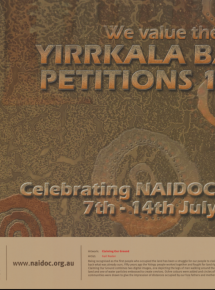 2013 National NAIDOC Poster