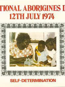 NAIDOC 1974 Poster