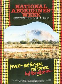 NAIDOC 1986 Poster