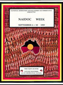 NAIDOC 1989 Poster