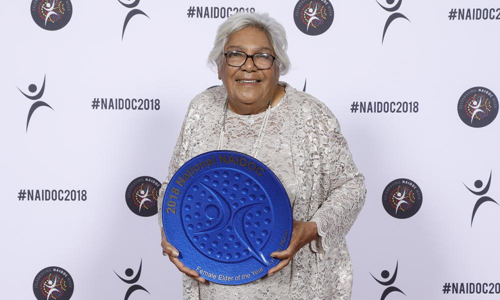 Female Elder of the Year 2018 Aunty Lynette Nixon